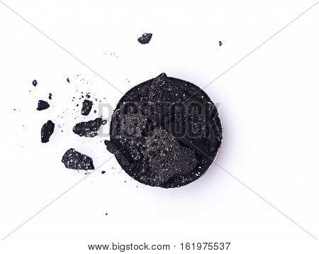 Black Shiny Crushed Eyeshadows