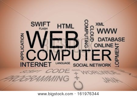 a concept of web development including programming languages