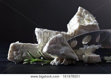 Fresh Homemade Goat Cheese With Rosemary