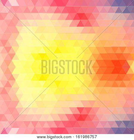 Graphic geometric vector background with abstract polygons for design