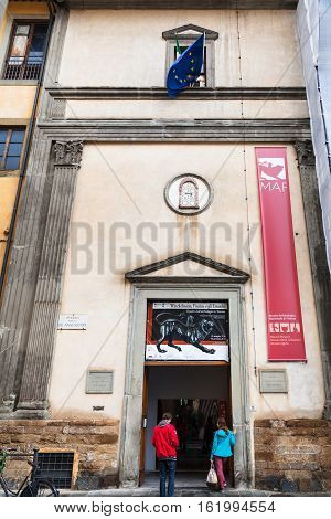 Entrance To National Archaeological Museum