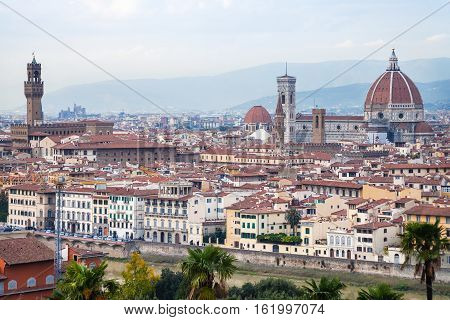 View Of Historic Center Florence City