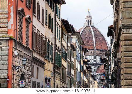 Cathedral Santa Maria Del Fiore Trough Street