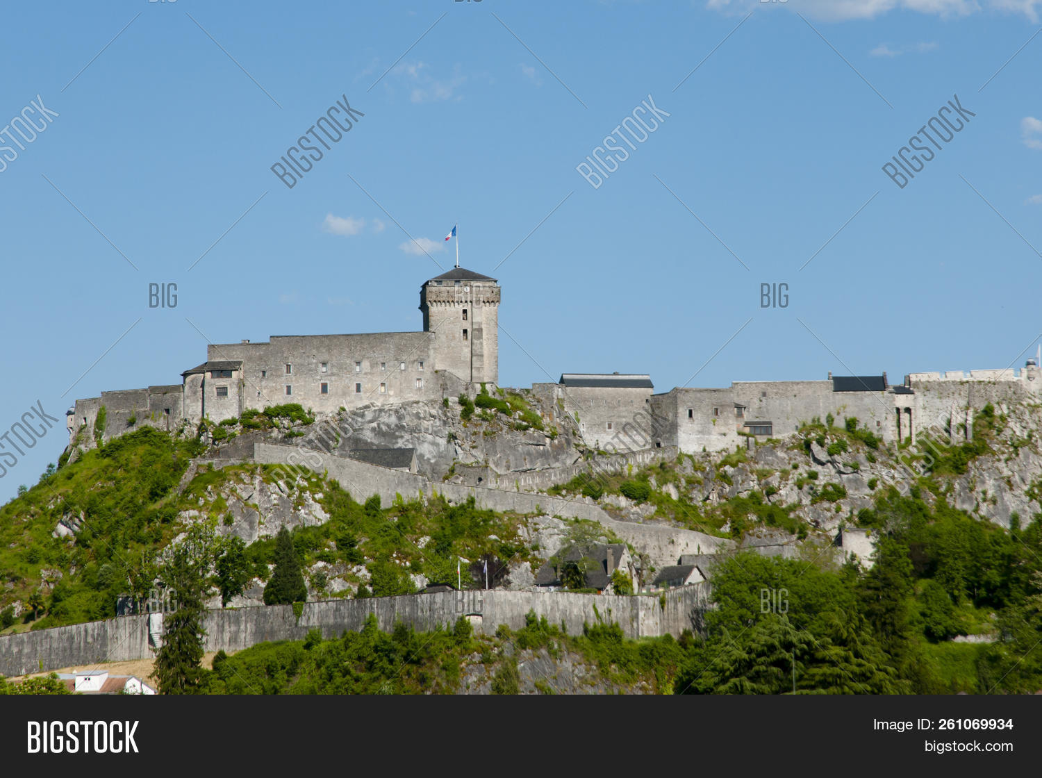 Old Chateau Fort Image Photo Free Trial Bigstock
