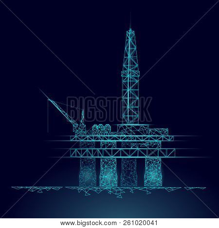 Ocean Oil Gas Vector & Photo (Free Trial) | Bigstock on