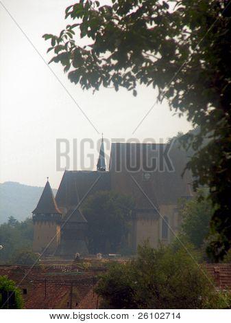 Summer in Romania, Biertan. Fortified church