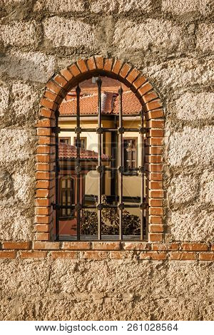 Garden Window Of A Traditional Turkish House From Odunpazari,  Eskisehir
