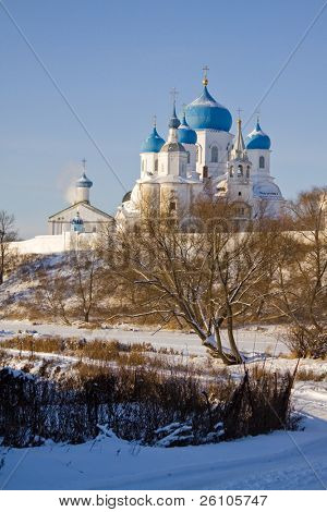 Travel in Russia. The Golden Ring. Bogoljubovo.