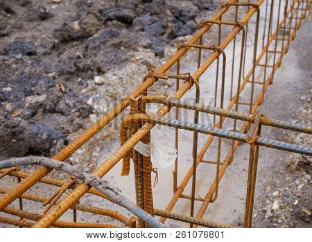 Old Rusted Iron, Steel For Construction, Steel