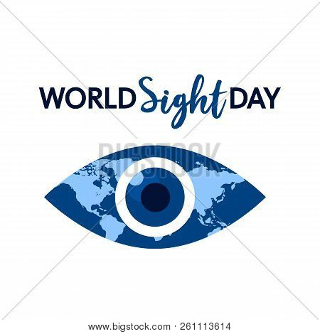 World Sight Day Concept Background. Flat Illustration Of World Sight Day Vector Concept Background F