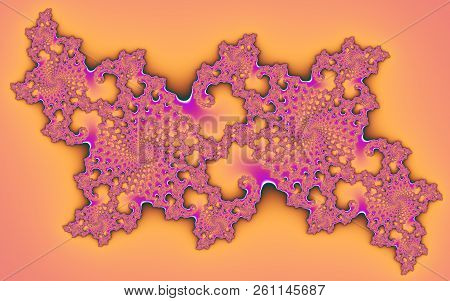 Abstract Digital Artwork. Beautiful Abstract Patterns
