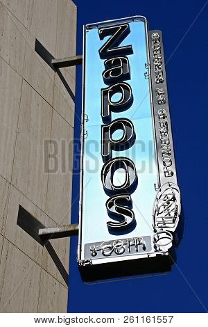 Las Vegas,nv/usa - Sep17 2018: Zappos.com Is An Online Shoe And Clothing Shop. Amazon.com Acquired Z