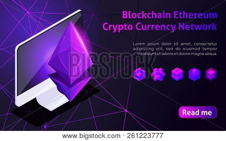 Isometry Icon Blockchain Ethereum Crypto Currency Network, Analysts And Managers Working On Crypto S