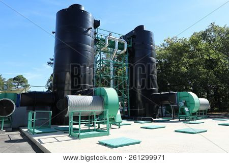 Water Treatment Process Plants Of The Waterworks
