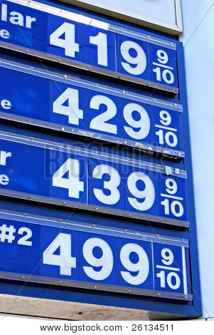 Prices top $4 per gallon for gasoline and $5 for diesel in the United States