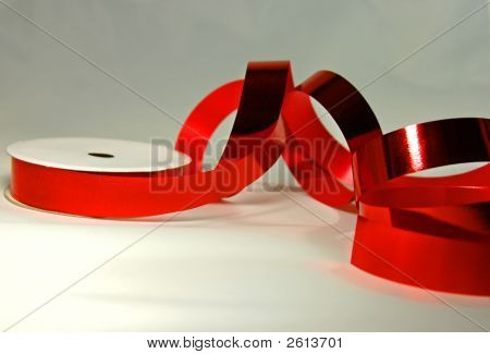 Shiney Red Wrapping Tape