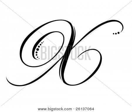 Letter X - Script