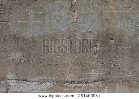 Cracked Cement Wall Grunge Grime Damaged Texture