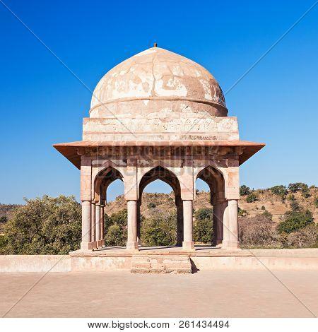 Rupmati Pavilion In Mandu, Madhya Pradesh, India