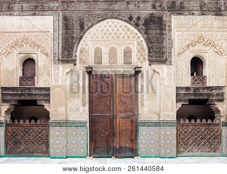 The Madrasa Bou Inania is a madrasa in Fes, Morocco. Madrasa Bou Inania is acknowledged as an excellent example of Marinid architecture. poster