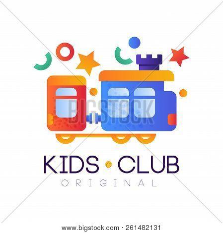 Kids Club Logo Vector Photo Free Trial Bigstock