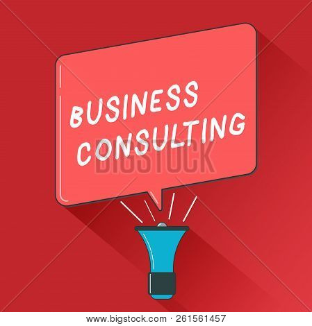 Writing Note Showing Business Consulting. Business Photo Showcasing Blends Practice Of Academic Theo