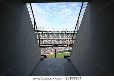 Entrance to a Ballpark