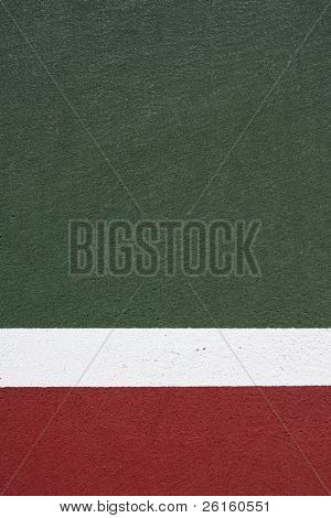 Tennis Court for Sports background with room for copy