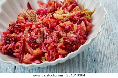 Pot Beetroot Pulao