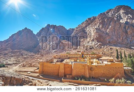 The Mount Sinai And St Catherine Monastery Are The Most Famous Religious And Historic Landmarks Of S