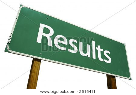 Results Road Sign