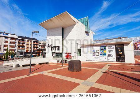 Vitoria-gasteiz, Spain - September 28, 2017: The Artium Museum Is A Contemporary Art Museum Located