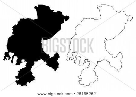 Zacatecas (united Mexican States, Mexico, Federal Republic) Map Vector Illustration, Scribble Sketch