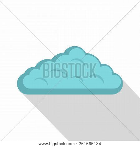 Wet Cloud Icon. Flat Illustration Of Wet Cloud Icon For Web