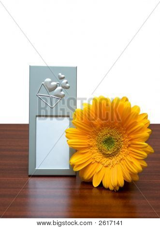 Photo Frame And Flower