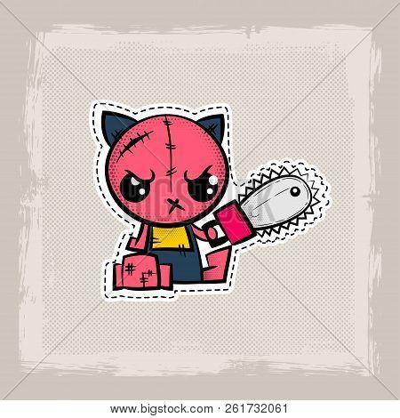 Halloween Stitch Vector Photo Free Trial Bigstock