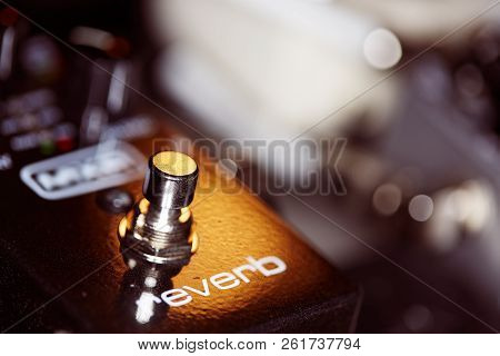 Photo Of Music Gear - Guitar Reverb Pedal