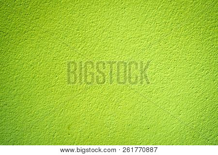 Green Cement Wall Texture, Background Is For Backdrop Design