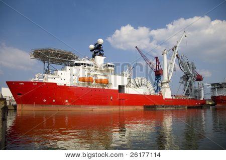 Construction vessel 2