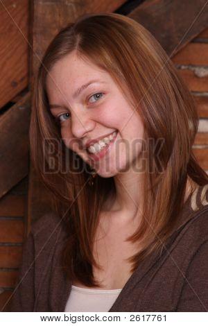 Posed Teenager