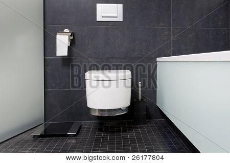 Moder Reservoir In Bathroom