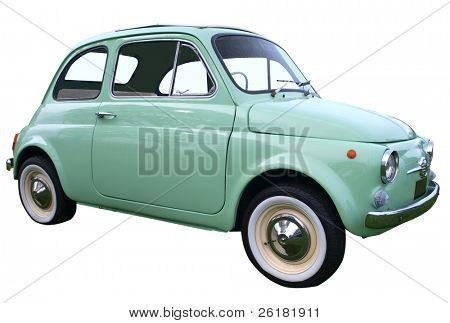 1973 Bambino isolated with clipping path
