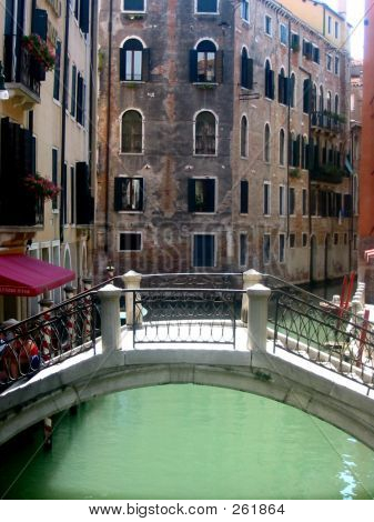 Venitian Bridge, Green Water