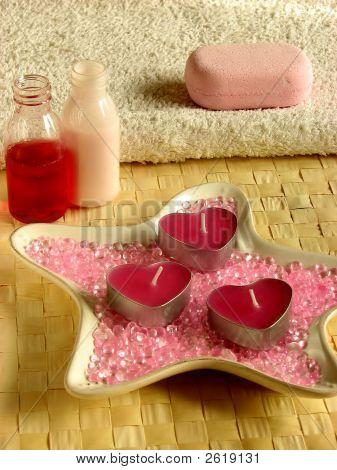 Bathroom/Valentine Still-Life