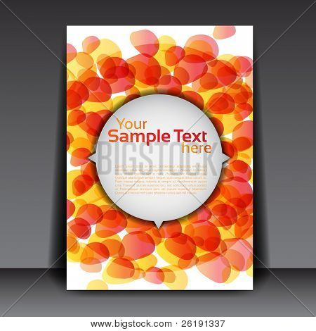 Flyer Design - EPS10 Vector Illustration