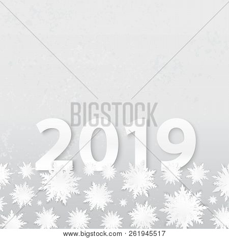 Origami Snowflakes Vector Photo Free Trial Bigstock