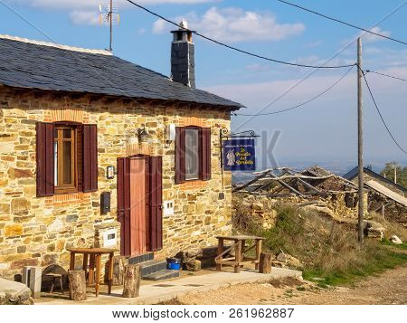 Hostel La Posada Del Druida Is One Of The Newly Opened Business Serving The Camino In The Semi-aband