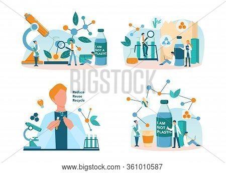Biodegradable Plastic Invention And Development.. Scientist Make