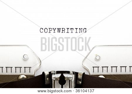 Typewriter Copywriting