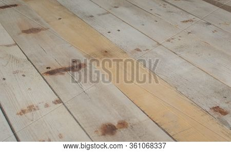 Reclaimed Barn Wood Laid Flat To Be Used As A Background.
